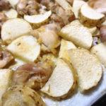 【時短レシピ】超簡単!絶品長芋と鶏もも肉のオーブン焼き○○味!